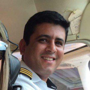 Piloto Fausto Mesquita (foto: Rede Social)