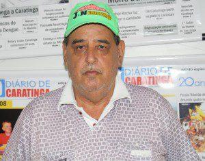 João Batista Mafra, o 'Pé de Chumbo', é o organizador do torneio