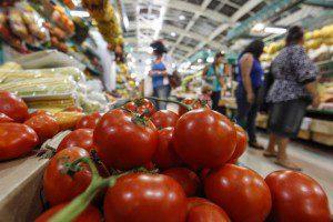 Tomate comum teve aumento de 36,8%