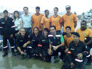 Prefeito de Mariana, Duarte Júnior, recebe equipe Anjos de Resgate