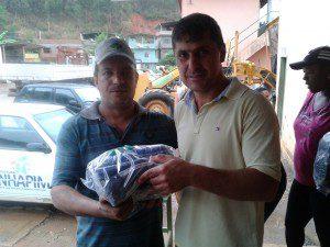 Secretário Silvio Rocha Júnior fez a entrega dos kits e falou da importância do uso do equipamento