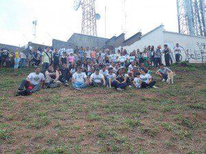 Guardiões da Natureza realizaram primeira ação na Pedra Itaúna