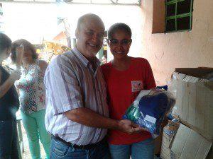 Prefeito Hamilton Chagas Filho (Bó) participa da solenidade