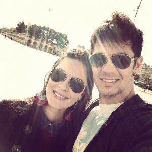 Rodrigo e a namorada Taíra (Foto: Arquivo Pessoal)