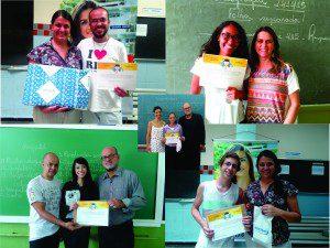 Os vencedores concorreram com quase mil estudantes