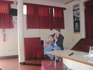 Professor Eugênio foi aluno da Escola Estadual José Augusto Ferreira Filho