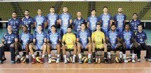 Equipe do Montes Claros (Foto: Superliga)