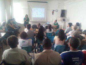 Centro de Reabilitação realizou um encontro com apresentações de cada setor