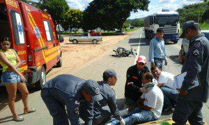 Vanderlei foi atingido por um carro que entrou na contramão