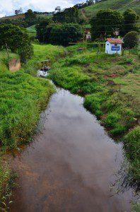 Córrego do Rio Preto já foi apontado como possível fonte de captação e está em situação mais confortável que o Córrego do Lage