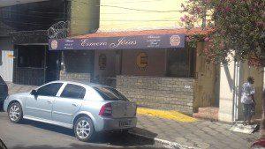 Joalheria onde aconteceu o crime (foto: Arquivo DIÁRIO)