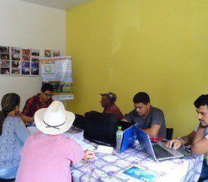 Reuniões feitas com as comunidades (foto: Arquivo IBIO)