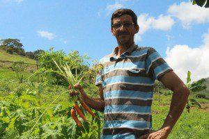 Para Batista, produtos orgânicos fazem a diferença