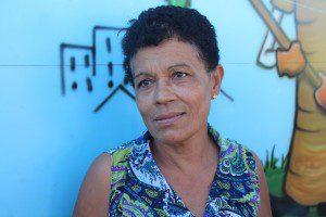 Amélia Maria Coelho, moradora do Bairro Nossa Senhora Aparecida, destaca o envolvimento da comunidade com o projeto