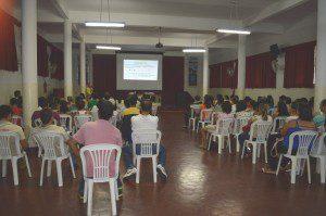 Agentes comunitários de Saúde participam de capacitação realizada ontem