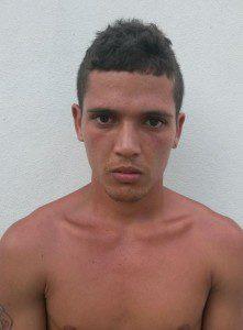 Paulo Henrique foi preso na cidade de Vargem Alegre