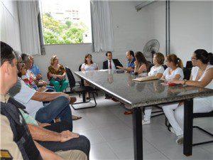 Solenidade de posse aconteceu no gabinete do prefeito