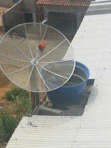 Orientação é que sejam tampadas as caixas d'água (foto: Rede Social)