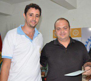 Médico veterinário Bruno da Costa Pinto também se ingressou ao Rotary