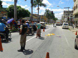 Avenida onde aconteceu o acidente
