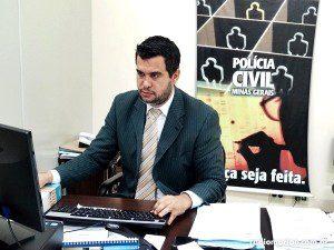 O delegado Eduardo de Freitas (foto: Rádio Muriaé)