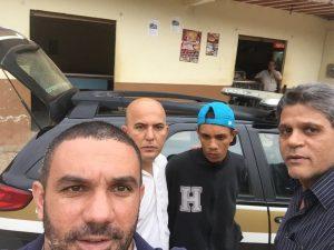 Ramon foi preso em um bar da zona rural de Inhapim