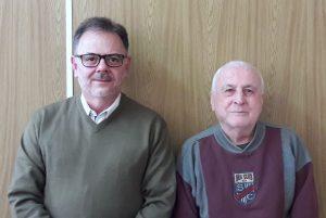 Eugenio e Monir - Escritores e membros da Academia de Letras de Caratinga