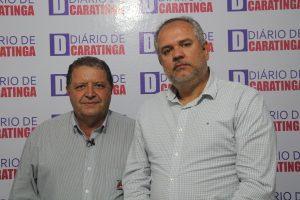 Gerci Gomes e Alcides Leite de Mattos