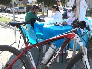 Natalino Honório de Souza é ciclista há 20 anos e está sempre preocupado com a saúde