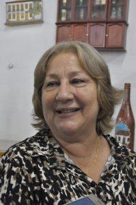 Dulce Mantuano veio de Belo Horizonte para o lançamento