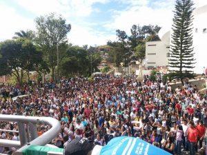 Milhares de jovens participaram da JDJ