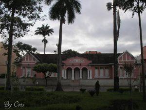 Fachada da Escola Estadual Princesa Isabel (foto: Cris)