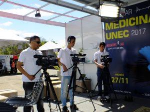 Equipe da UNEC TV