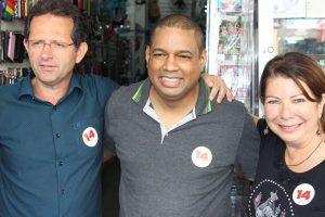 Comerciantes abraçam a campanha de Marco Antônio e Rina Grossi