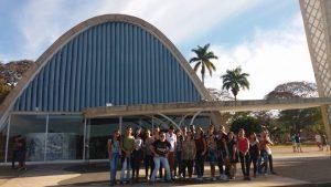 Viagem serviu para realização de visitas técnicas nos centros culturais da cidade
