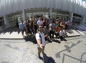 Visita ao Palácio das Artes