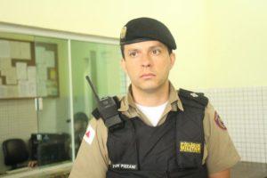 Tenente Pizzani e sua equipe conseguiu recuperar as armas de fogo
