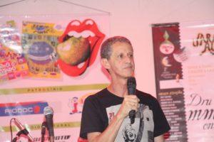 Camilo Lucas durante comemoração dos 40 anos da Jararaca Alegre (Foto: Arquivo Diário)