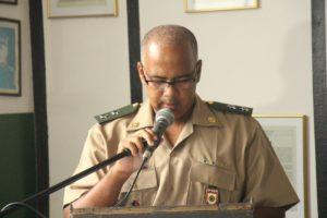 Em seu pronunciamento, tenente Marcelo Silva falou sobre o desafio que assumiu há dois anos, enquanto delegado