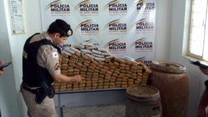 Drogas foram localizadas em chácara