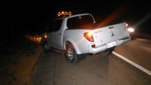 Motorista da caminhonete contou como foi o acidente