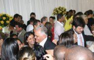 Mário é saudado por uma multidão em Vargem Alegre
