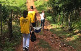 Regional de Saúde de Coronel Fabriciano realiza busca ativa na zona rural contra Febre Amarela