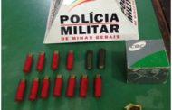 20 munições recolhidas no Vale do Sol