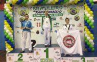 Luciana Cardozo é pódio no Campeonato Brasileiro de Taekwondo