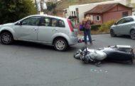 Três acidentes, três motociclistas feridos