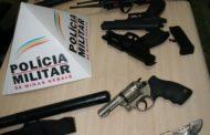 Falsos seguranças são detidos em Manhuaçu