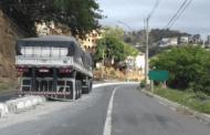 Incidente com carreta na BR-116