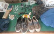 PM detém dois jovens e apreende drogas e arma de fogo