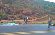 Morador de Santa Bárbara do Leste morre em acidente na BR-116
